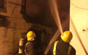 """""""مدني مكة"""" يكشف حجم الأضرار التي لحقت بالمباني التاريخية جراء حريق جدة"""