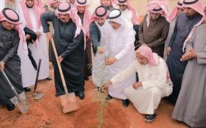 متطوعون بشقراء يشاركون في حملة زراعة 4 ملايين شجرة