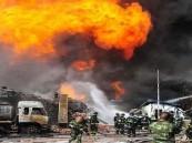 قتلى وجرحى في انفجار مصنع للكيماويات شرق الصين