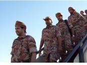 بالفيديو ..وصول القوات العمانية للمشاركة في تمرين رعد الشمال