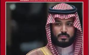 """شاهد.. الأمير محمد بن سلمان يتصدر غلاف مجلة  """"لو بوان"""" الفرنسية"""