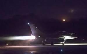 فيديو.. لحظة إقلاع مقاتلات رافال فرنسية للمشاركة في الضربات العسكرية على سوريا