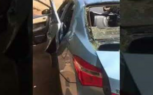 فيديو.. انفجار داخل مركبة وإصابة 3 وافدين في جدة