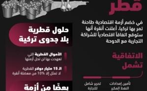 استغلت وضعها الإقليمي السيء .. تركيا تحلب قطر اقتصادياً