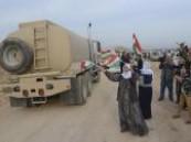 القوات الكردية العراقية تدخل كوباني لقتال تنظيم الدولة الإسلامية
