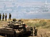 اطلاق صواريخ من سوريا على مواقع إسرائيلية بالجولان