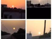 صور لشروق شمس يوم الثلاثاء ١٤٣٦/٩/٢٧
