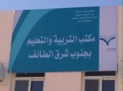 """مكتب التعليم بجنوب شرق الطائف يهنئ """"طيف الحارثي"""" لترشحها لجائزة التفوق الدراسي بمملكة البحرين"""