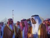 مشعل بن عبدالله يطلق مهرجان الورد الطائفي العاشر