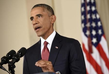 """أوباما  منتقداً """"ترامب"""":  أنا السبب في تعافي الاقتصاد الأمريكي"""