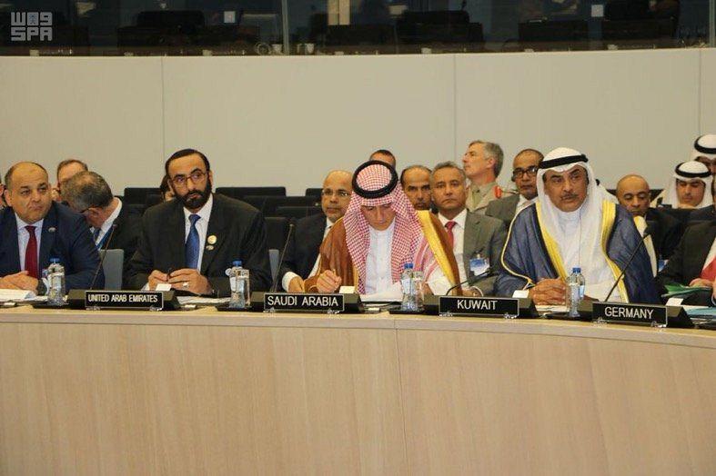 الجبير يشارك في الاجتماع الوزاري للتحالف الدولي لمحاربة داعش