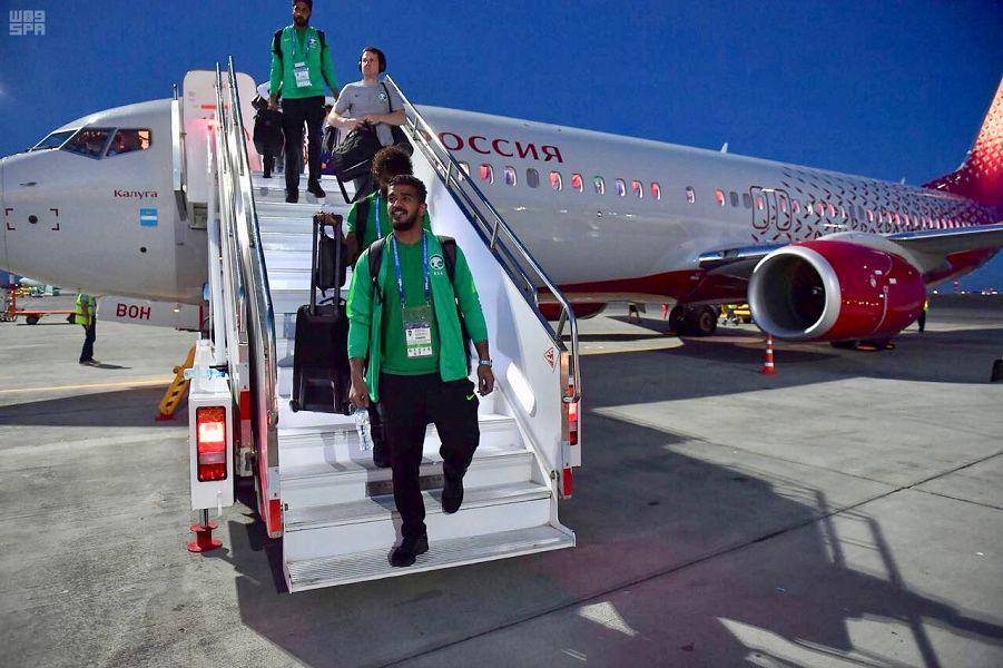 الأخضر يصل فولغوغراد لملاقاة مصر