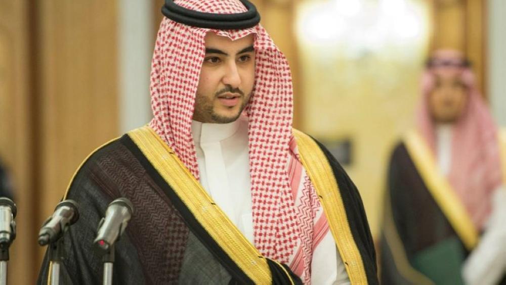"""""""خالد بن سلمان"""": سنواجه جرائم ميليشيا الحوثي بحزم لا ينثني وصرامة لا تنكسر"""