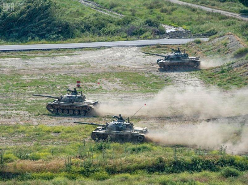 انطلاق مناورات التمرين العسكري المشترك في تركيا