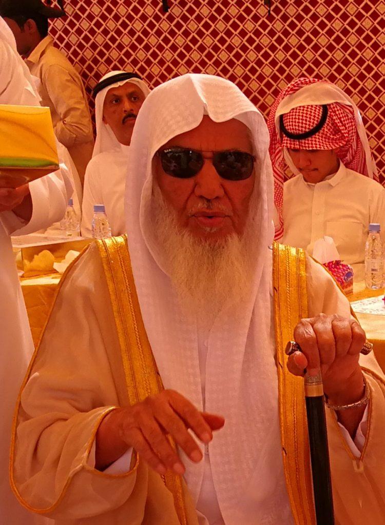 الشيخ فريحان الحارثي في ذمة الله