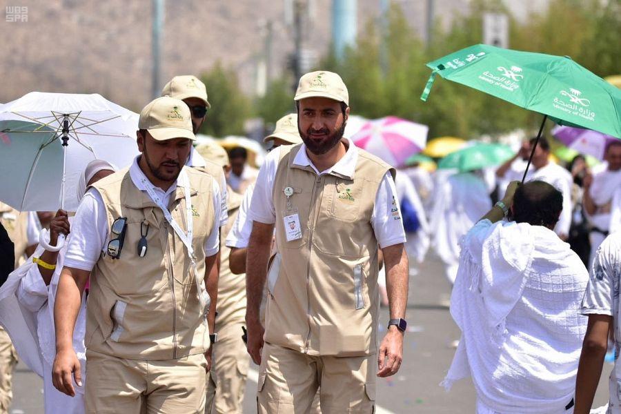 الصحة: تصعيد 420 حاجًا إلى مشعر عرفات