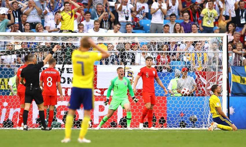 المنتخب الإنجليزي إلى نصف نهائي المونديال