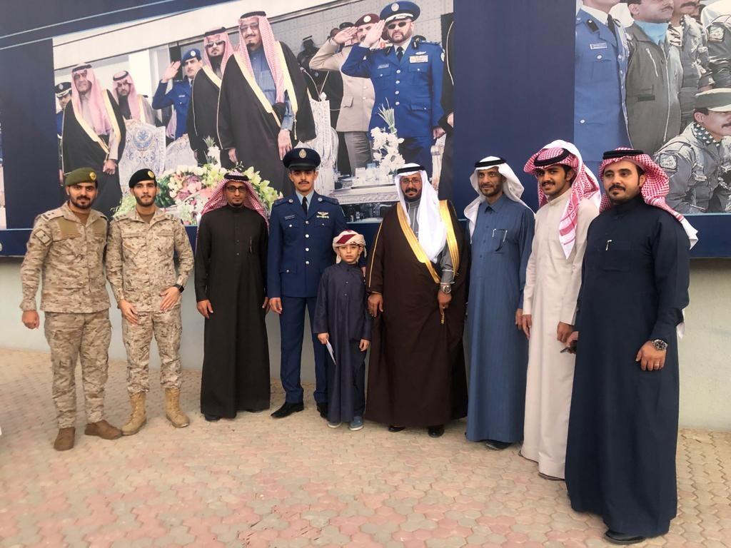 الغامدي يتخرج برتبة ملازم طيار