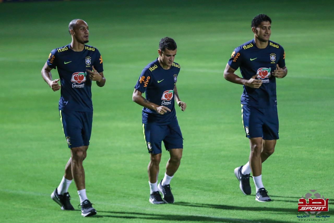 تدريبات منتخب البرازيل
