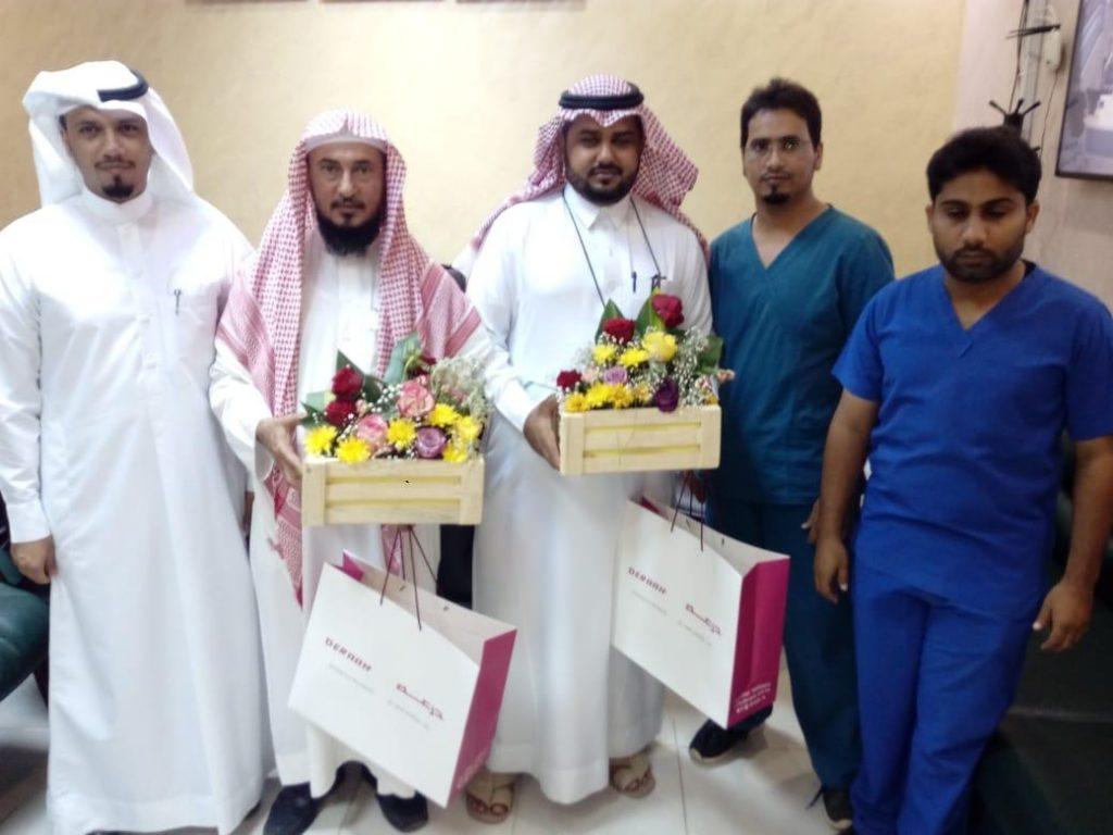 برنامج لزيارة مرضى الرعاية المنزلية في محافظة الطوال