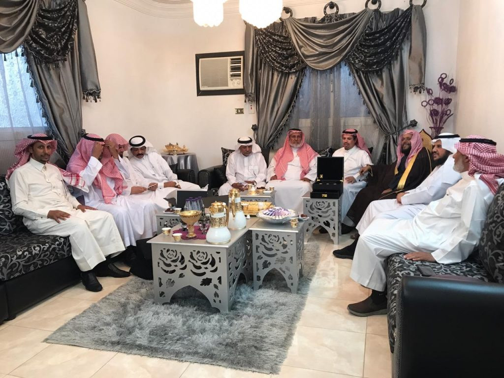 إدارة جمعية التحفيظ في ميسان وأعيان المحافظة يزورون الفيفي