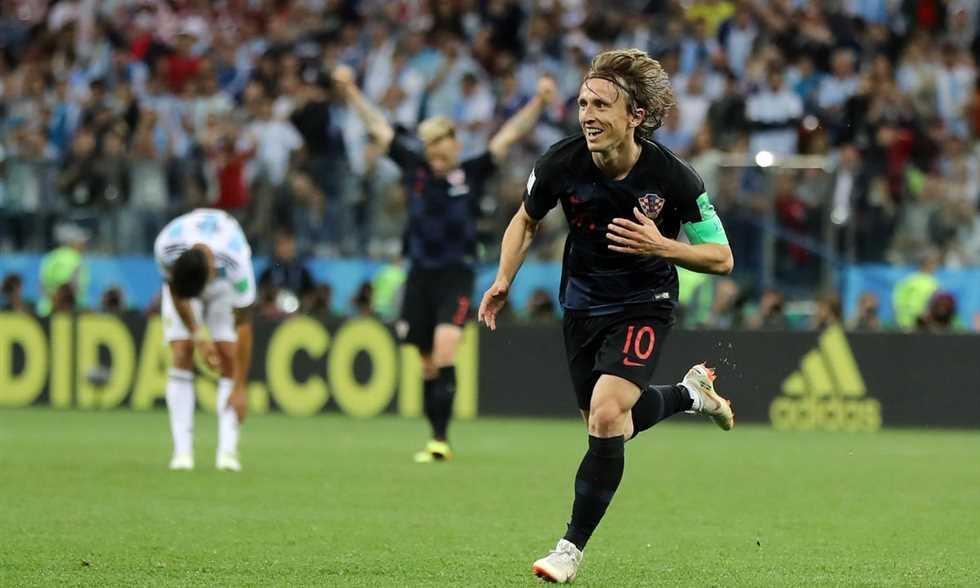 كرواتيا تسحق الأرجنتين بثلاثية