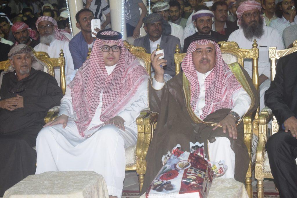 محافظ خميس مشيط يرعى احتفال الجالية اليمنية بالعيد