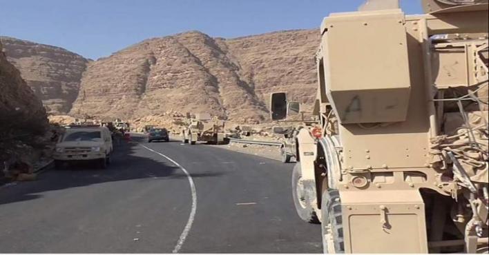 الجيش اليمني يتقدم في جبال مران