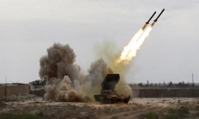 التحالف يدمر عربة إطلاق صواريخ حوثية استهدفت مدرسة بجازان