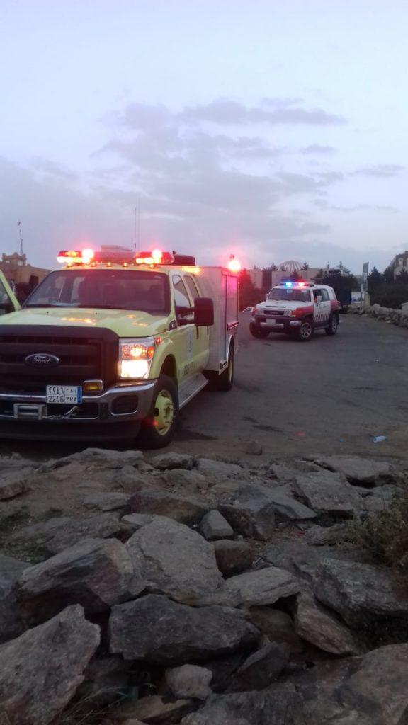 سقوط شاب من المطل المخصص للطيران الشراعي بالسودة(صور)