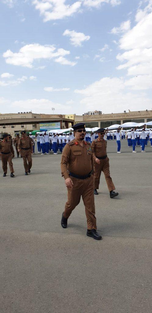 اللواء الكاسي في زيارة لمركز تدريب مدني عسير