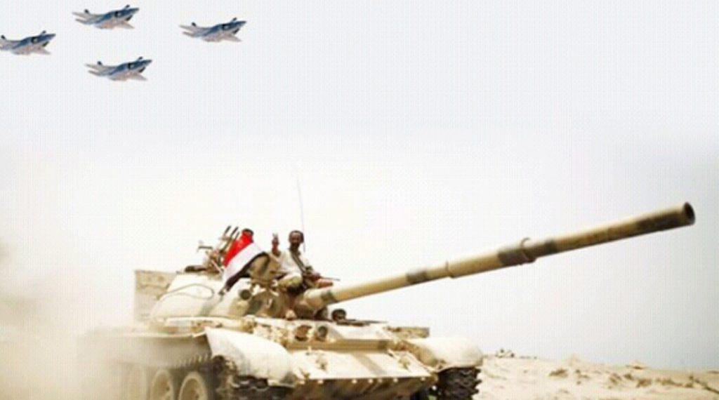 سقوط قتلى وجرحى  بصفوف الانقلابيين في معارك بمطار الحُديدة