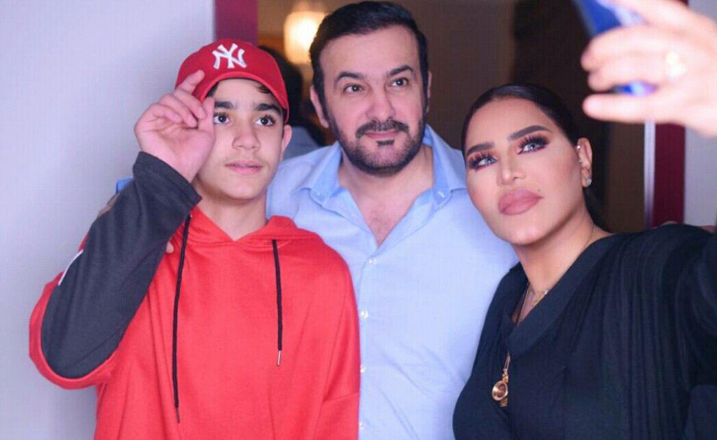 الفنانة أحلام ترد على وسم طلاقها من زوجها مبارك الهاجري