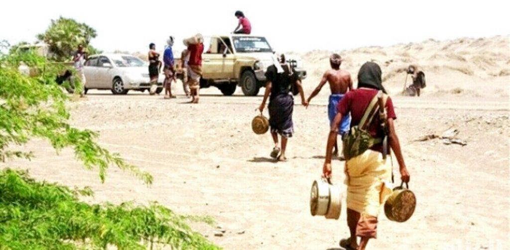 مليشيا الانقلاب تزرع مناطق آهلة بالسكان في زبيد بحقول من الألغام