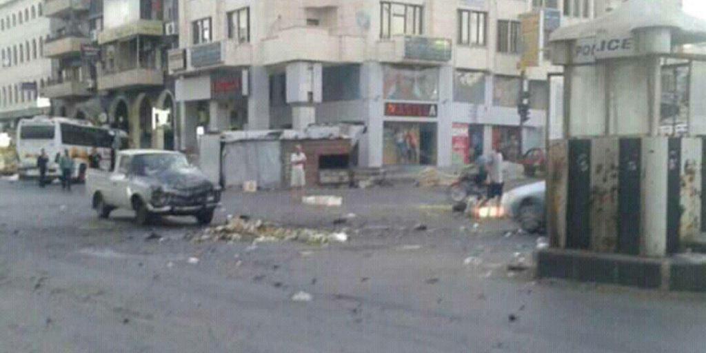 32 قتيلاً في سلسلة تفجيرات انتحارية استهدفت مدينة السويداء