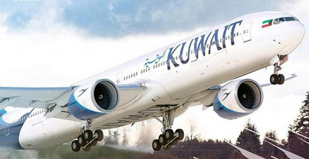 """""""الخطوط الكويتية"""" تستأنف رحلاتها بعد توقفها بسبب سوء الأحوال الجوية"""