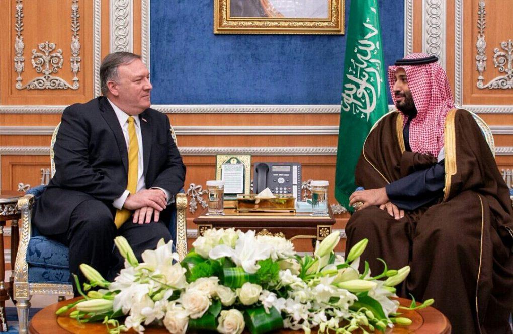 شاهد.. ولي العهد وبومبيو يتفقان على ضرورة الحل السياسي لإنهاء النزاع باليمن