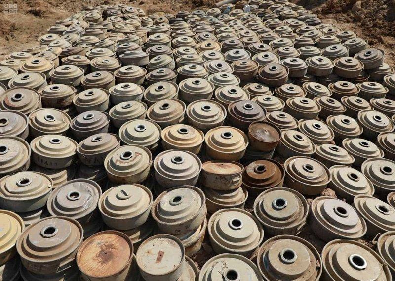 «مسام» ينتزع 2,956 لغمًا في اليمن خلال الأسبوع الأول من سبتمبر