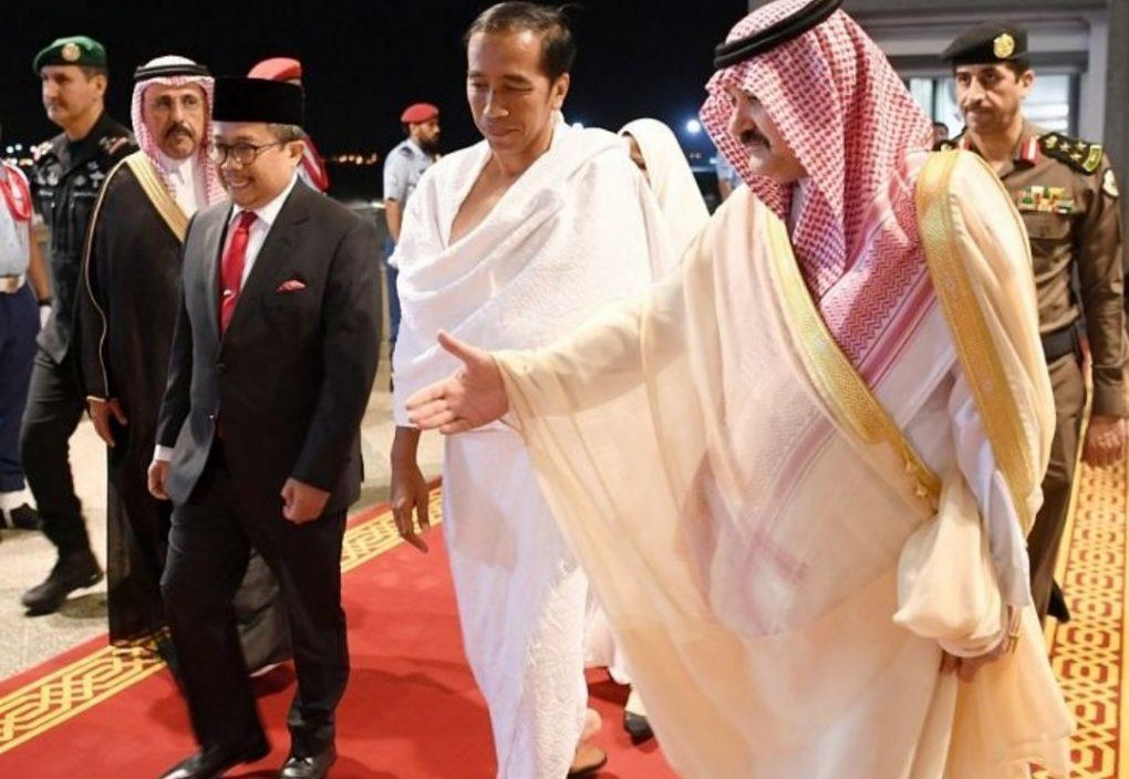 رئيس جمهورية إندونيسيا يصل إلى المدينة المنورة