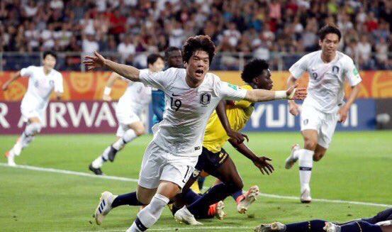 كوريا الجنوبية تضرب موعدًا مع أوكرانيا في نهائي مونديال الشباب