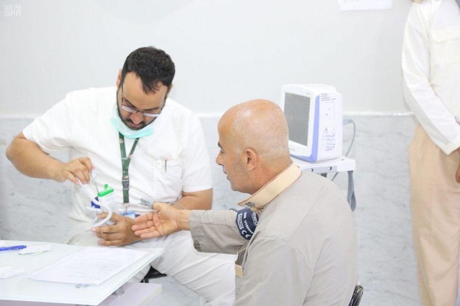 4 مراكز طوارئ في الحرم المكي تستقبل 6038 حاجًا