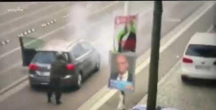 مقتل شخصين بإطلاق نار أمام معبد يهودي في مدينة هاله الألمانية