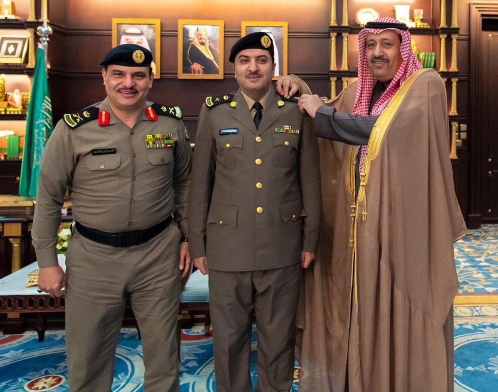 """""""الخثعمي"""" إلى رتبة مقدم في إمارة الباحة"""