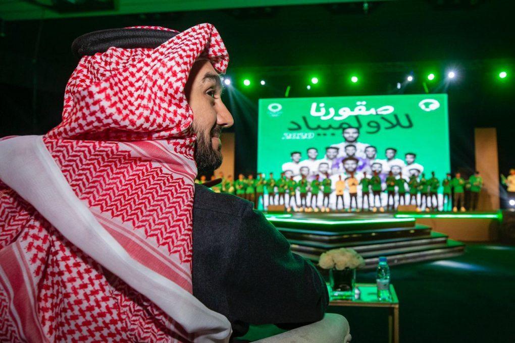 الفيصل استقبلهم و احتفل بهم