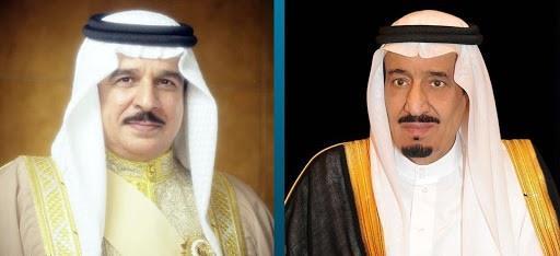 خادم الحرمين يتلقى اتصالاً من ملك البحرين