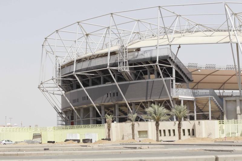 «ملعب الفيصل» يتزين لموسم 2021