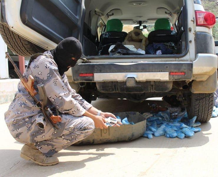 إحباط محاولات تهريب 28 طن من القات المخدر بالمناطق الجنوبية