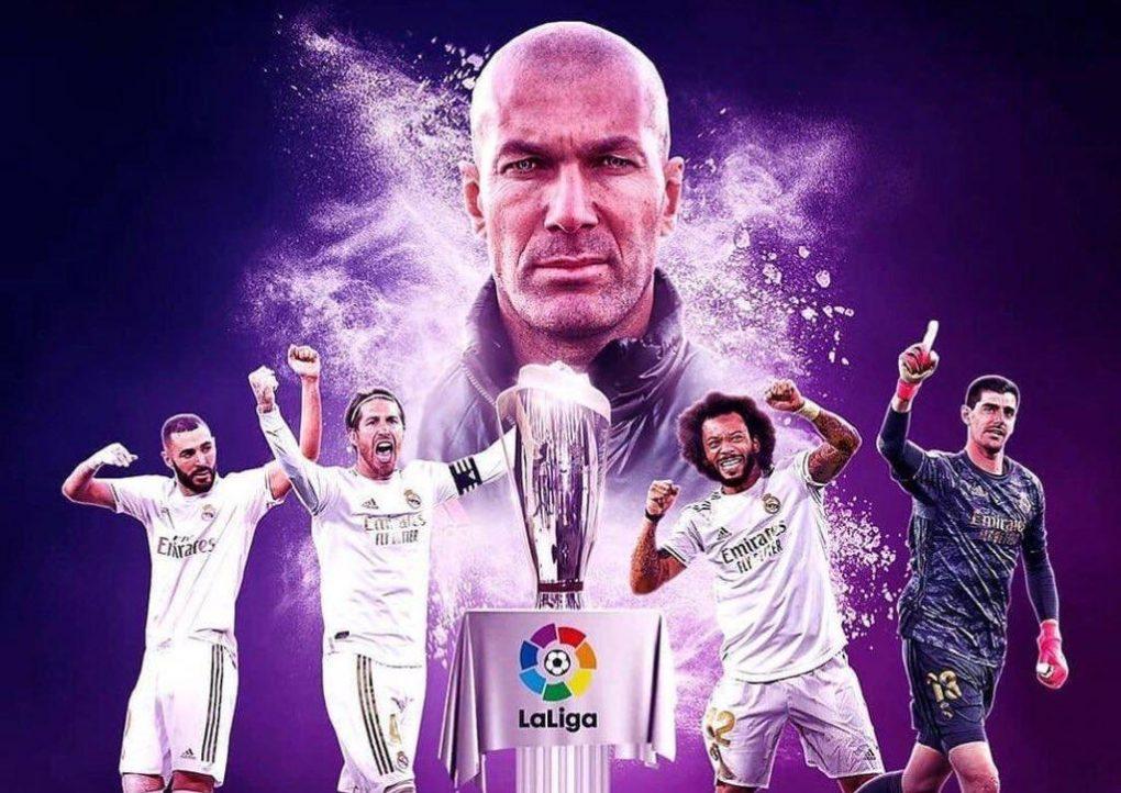 ريال مدريد يتوج بطلاً بلقب الدوري الإسباني 2019/2020 للمرة الـ34 في تاريخه
