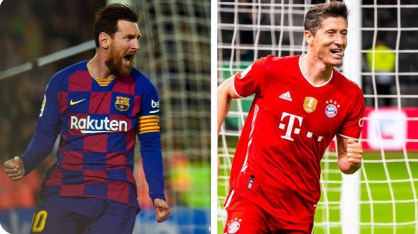 برشلونة و البايرن يلتقيان في ربع نهائي أبطال أوروبا