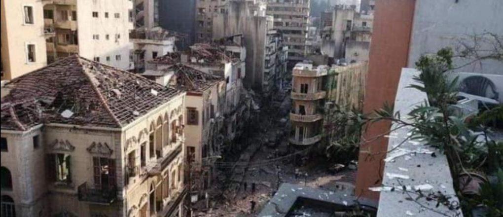 وزير الداخلية اللبناني يوضح الأسباب الأولية لانفجار بيروتوزير الداخلية اللبناني يوضح الأسباب الأولية لانفجار بيروت